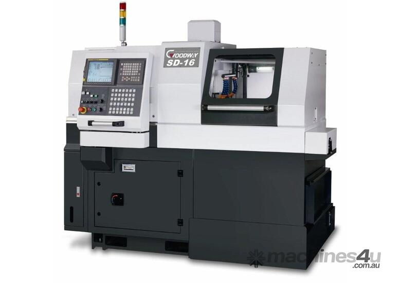 SD & SW Series Swiss Type Lathes