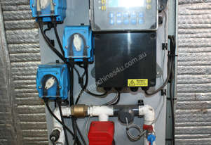 chemical dosing system 3 peristaltic pumps WaterDo