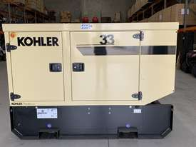 KOHLER 33kVA John Deere Diesel KD33V Generator Enclosed-230L Extended Tank |Made in France| - picture0' - Click to enlarge