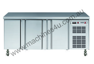 3 Door Food Service Freezer Counter - GN 1/1 Grids