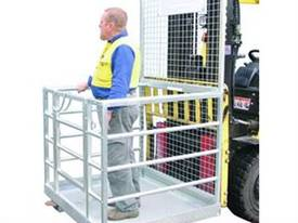 Forklift Safety Cage - Assembled - picture0' - Click to enlarge