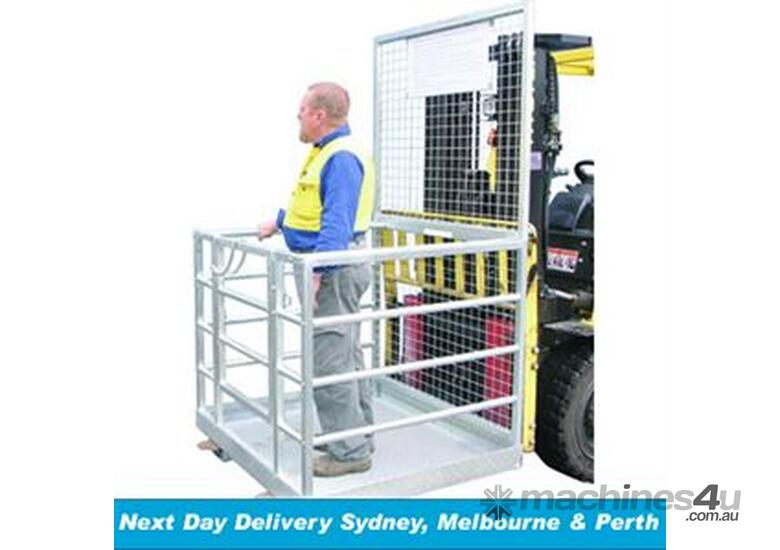 Forklift Safety Cage - Assembled