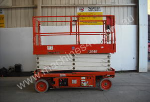 ELEC SCISSOR LIFT 26' (TEN YER TESTED)