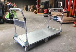 Aluminum Double Handle 350kg Foldable Heavy Duty