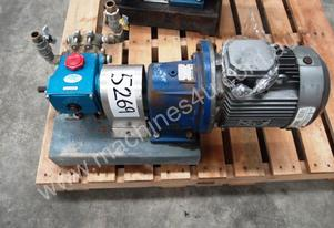 High Pressure Piston Pump IN: 19mm Dia, OUT: 19mm