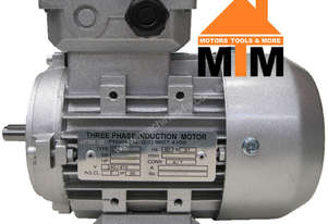 3 Phase Electric Motor  415V 0.37 kW 1400 RPM 4P