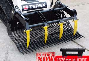 1676 mm Grapple Rock Bucket suit Bobcat skid steer