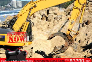 Mechanical Rock Grab suit 6-7Ton Excavator ATTGRAB