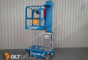 Genie GRC12 Personnel Lift with Charger - Low hrs