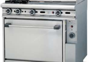 Trueheat Gas 2 Open Top Burners 600 Griddle Gas Oven R90-2-60GR
