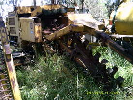 task force 1000 ,60hp , track mounted trencher , belt conveyor - picture0' - Click to enlarge