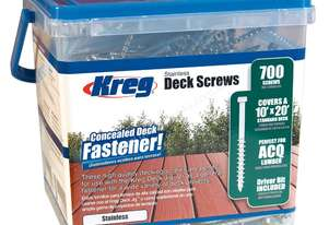 Kreg Deck Screws 2