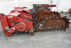 H910 centre mount trencher attachment , 1 left in stock