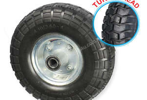 52106 - 260MM PU RUBBER FOAM FILLED PUNCTURE PROOF OFFSET WHEEL