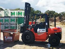 Heli 3000kg 2WD diesel rough terrain forklift  *FREE DELIVERY AUSTRALIA WIDE* - picture2' - Click to enlarge