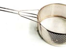 COMMERCIAL ROUND FRYING BASKETS - DIAMETER : 200MM - picture0' - Click to enlarge
