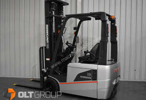 Nissan Unicarrier 3 Wheel Battery Electric Forklift with 6m Lift Height