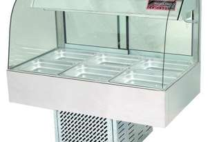 Woodson W.CFC25 Cold Food Bar - Curved Glass 1680mm