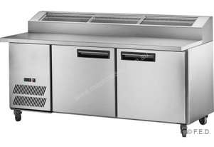 F.E.D. PPB/15 Two Door DELUXE Pizza Prep Fridge