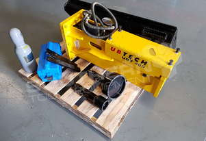 Post Driving Silenced Hydraulic Hammer UBT40S ATTUBT Suit Telehandlers & Backhoes
