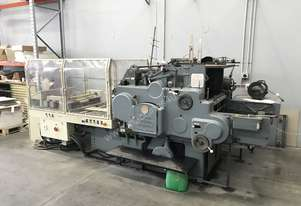 Heidelberg SBG Cylinder Press with twin foil