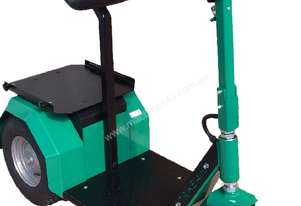 Battery Electric Pull/Push Stand on Tug 400watt 1500kg Cap with Back rest