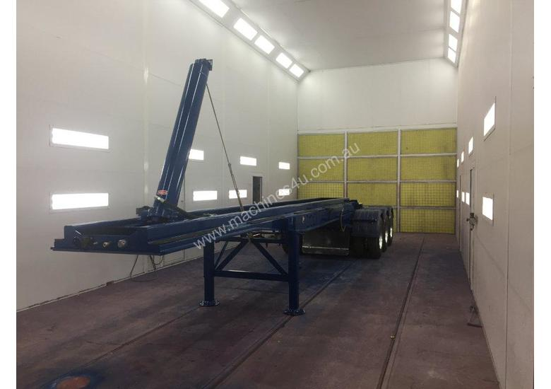 Used Capture Spray Booth Dry Filter Bake Truck Booth Near
