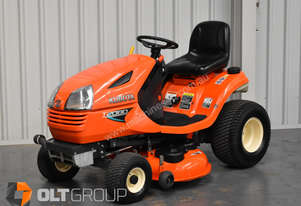 Kubota Ride On Mower Petrol T2080 with 3 in 1 multi deck only 344 hours