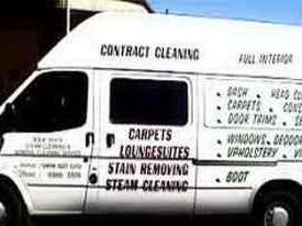 Cleaning equipment and Ford Transit van - picture0' - Click to enlarge