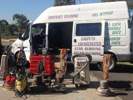 Cleaning equipment and Ford Transit van - picture2' - Click to enlarge