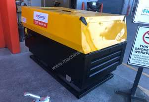 2009 Atlas Copco XAS37 Skid Mount Diesel Air Compressor