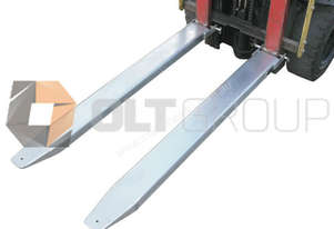 Forklift Extension Slippers Class 1 2500kg SWL 1600mm, 780mm, 2100mm and 2400mm Lengths