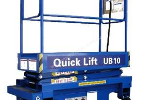QUICK LIFT 10ft Push around Scissor Lift