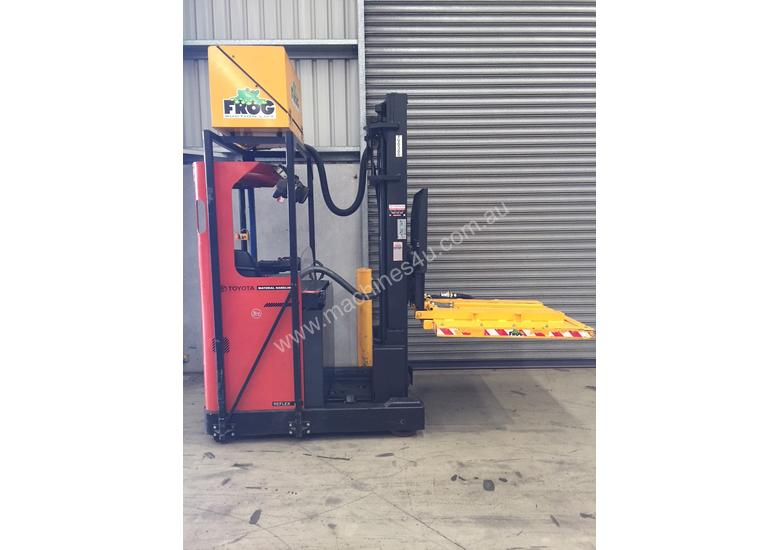 BT RRE160M reach truck in good condition. Sydney location.