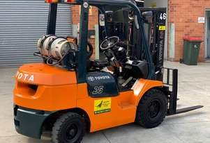 Toyota 2.5T Gas Forklift 7FG25 for HIRE from $180pw + GST