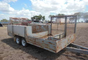 Mower Trailer, With ramps