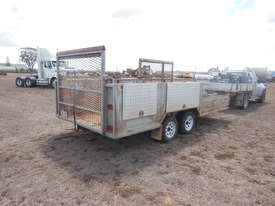 Mower Trailer, With ramps - picture1' - Click to enlarge