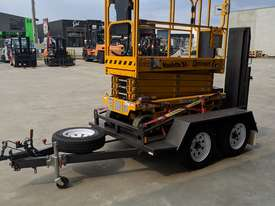 *RENTAL* 8 METER ELECTRIC SCISSOR LIFT(ON TRAILER) - picture3' - Click to enlarge