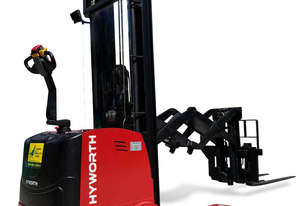 HYWORTH 1.5T Double Deep Walkie Reach Stacker Forklift FOR SALE