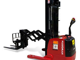 HYWORTH 1.5T Double Deep Walkie Reach Stacker Forklift FOR SALE - picture2' - Click to enlarge