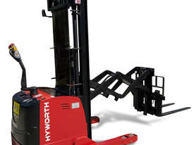 HYWORTH 1.5T Double Deep Walkie Reach Stacker Forklift FOR SALE - picture3' - Click to enlarge