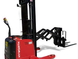 HYWORTH 1.5T Double Deep Walkie Reach Stacker Forklift FOR SALE - picture0' - Click to enlarge