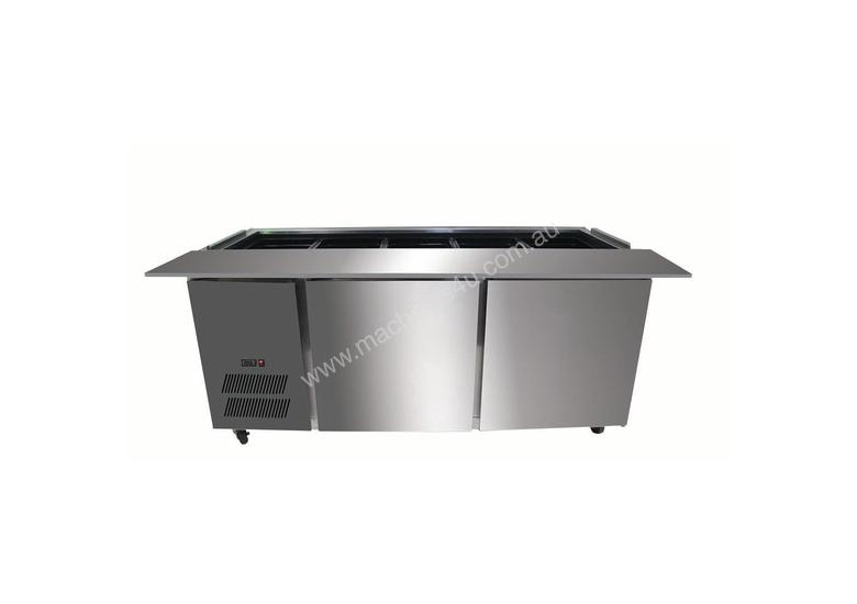 PG150FA-B Bench Station Two Door - 4x1/1 GN Pans