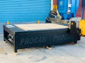Procam Tekcel CNC Router Machine with Auto Tool Change and Vacuum Table - 2.4m x 1.8m - picture1' - Click to enlarge