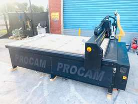 Procam Tekcel CNC Router Machine with Auto Tool Change and Vacuum Table - 2.4m x 1.8m - picture2' - Click to enlarge