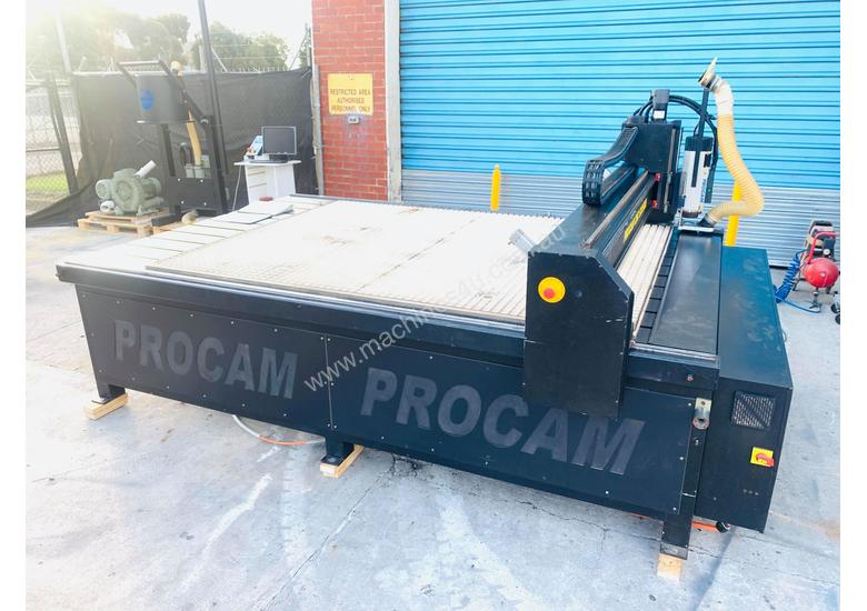Procam Tekcel CNC Router Machine with Auto Tool Change and Vacuum Table - 2.4m x 1.8m