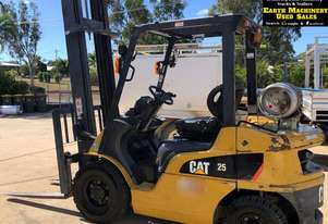 2011 CAT GP25NT 2.5ton lift Forklift, low hrs.  MS514