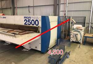 Used Timber Press Line + 4 Side Planer