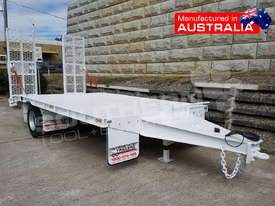 9 Ton Single Axle Tag Trailer WHITE ATTTAG - picture0' - Click to enlarge