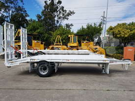 9 Ton Single Axle Tag Trailer WHITE ATTTAG - picture1' - Click to enlarge